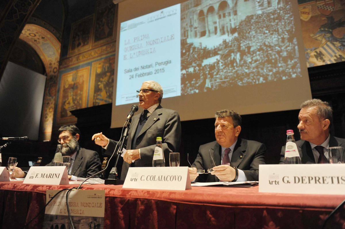 Tavolo dei relatgori - Pizzo, Marini, Colaiacovo, Depretis