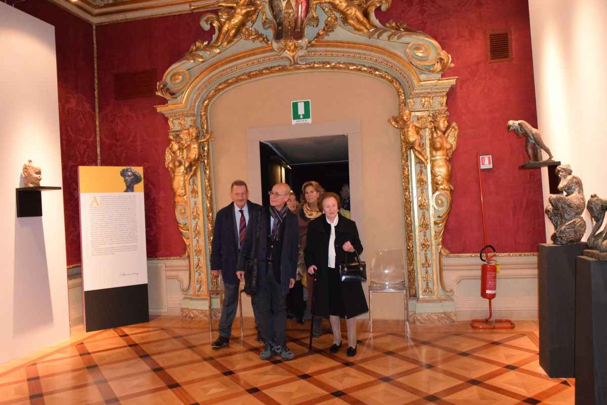 ingresso Mancini, sig.ra irma, Depretis e Cristina Maddoli