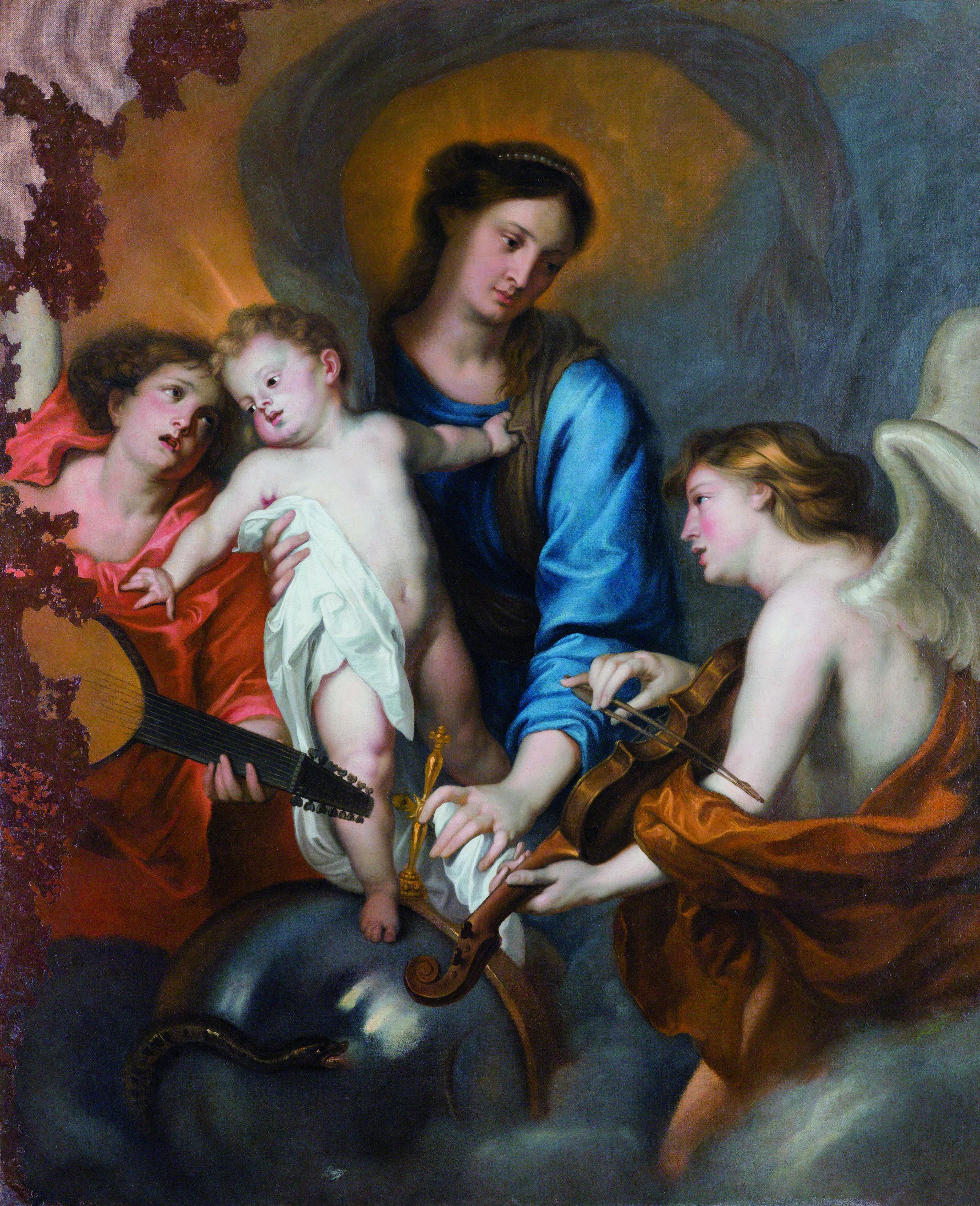 0334_COEN 2012_ANTON VAN DICK Vergine con angeli