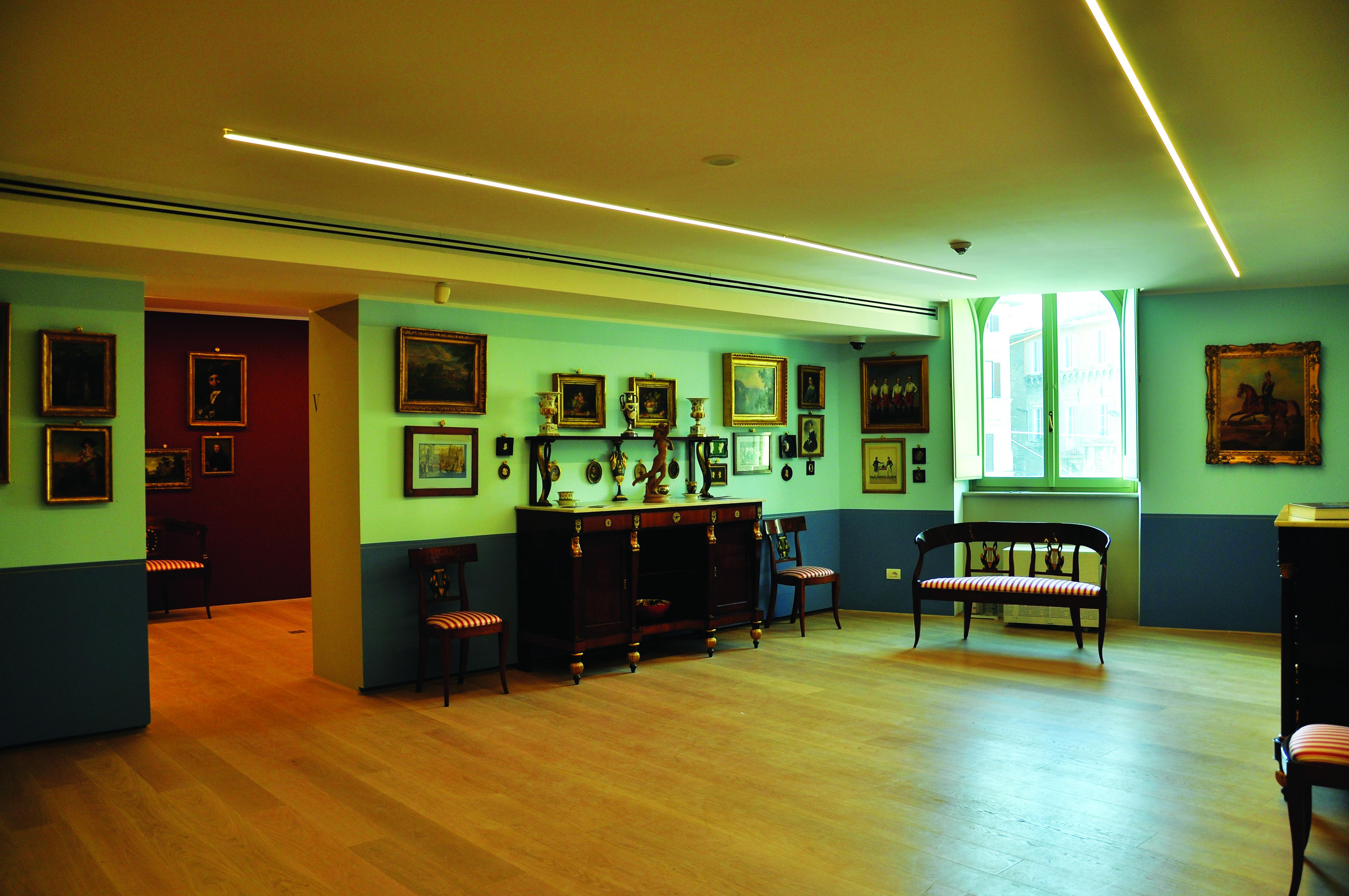 Salotto Azzurro - '700 e '800