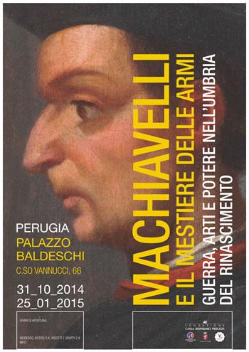A Palazzo Baldeschi Niccolo' Machiavelli e il legame con l'Umbria