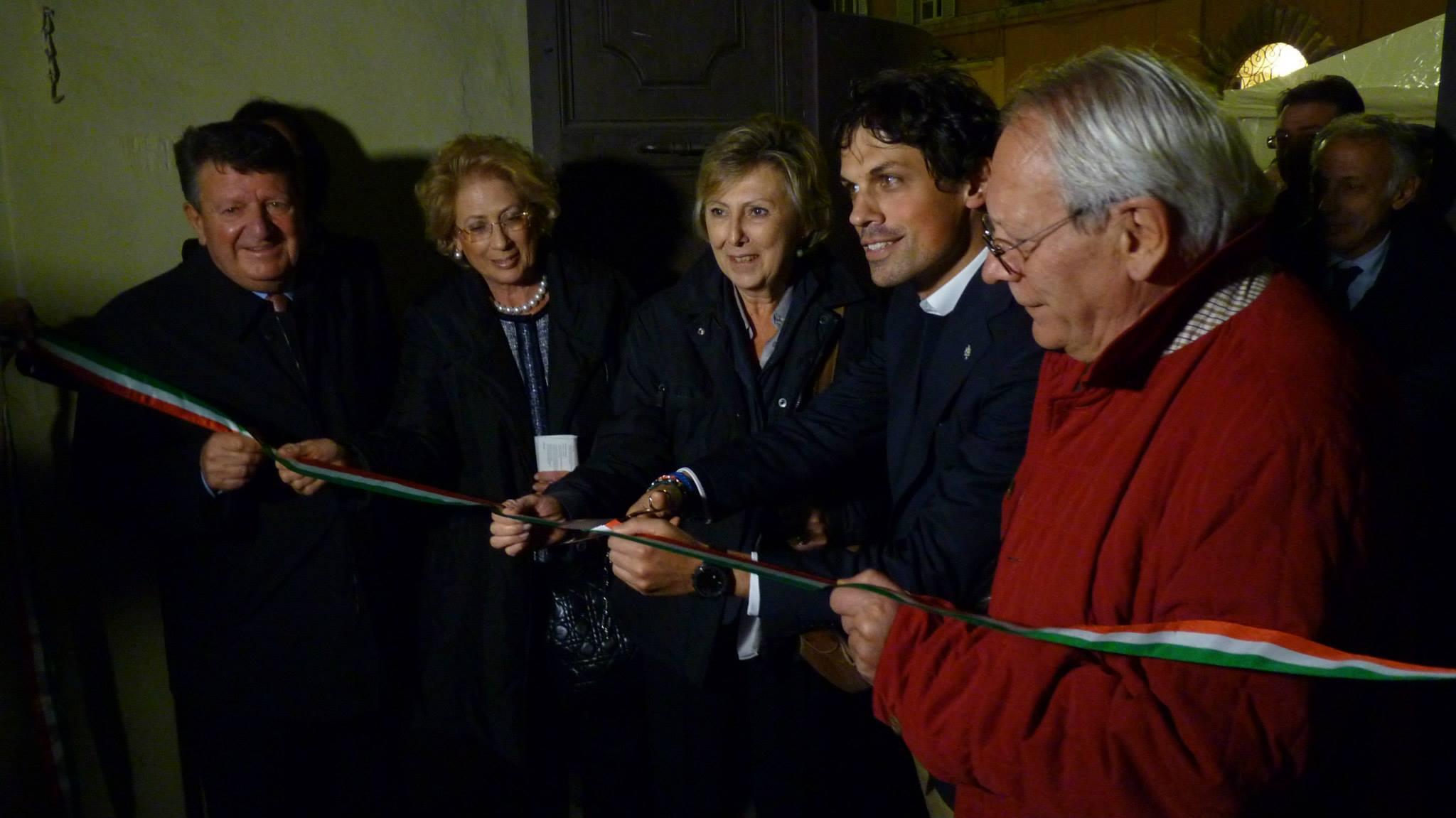 Con Machiavelli e l'arte della guerra nell'Umbria del'500: taglio del nastro per la mostra a palazzo Baldeschi