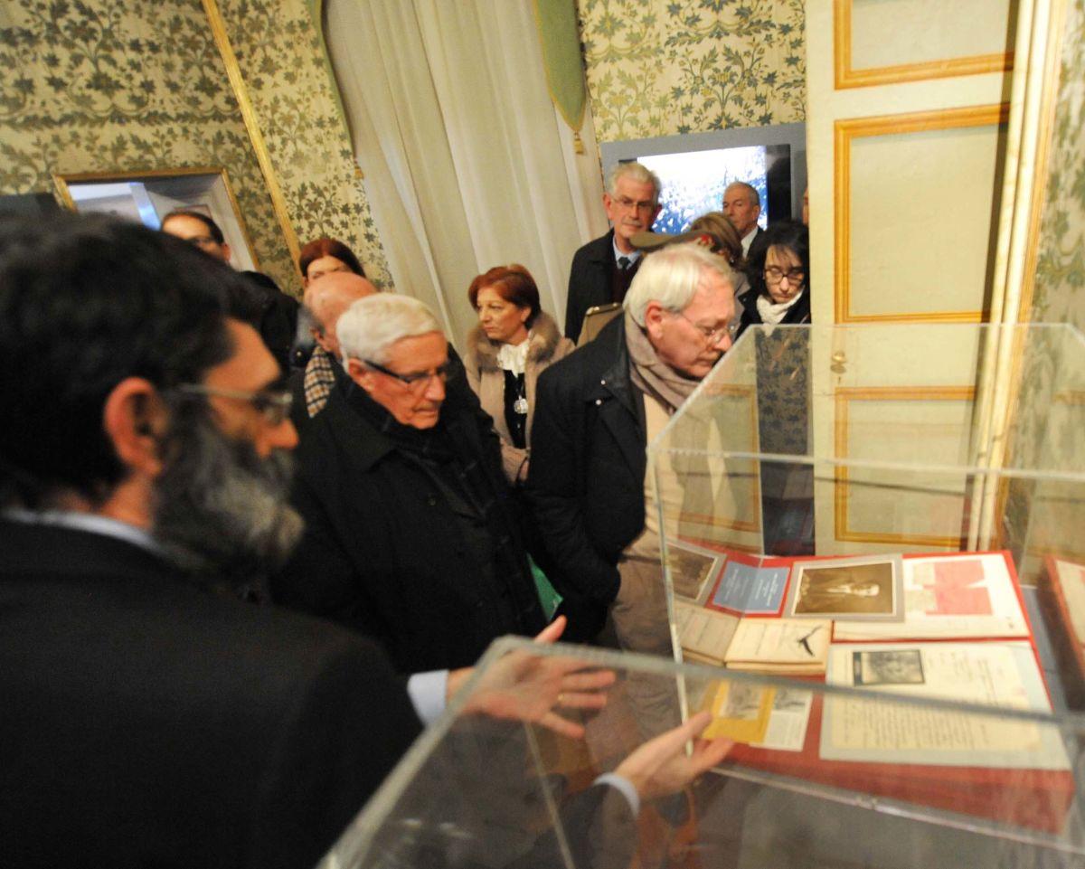 Pizzo, Marini e assessore Bracco in mostra