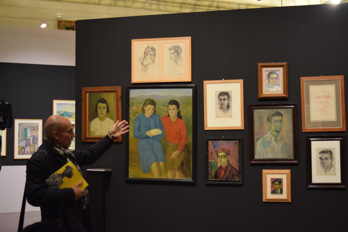 Mancini mostra quadri
