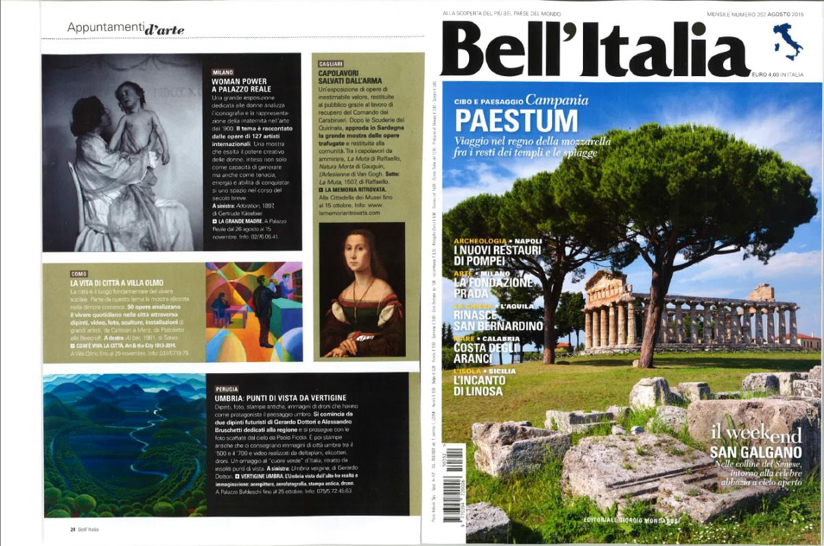 """Punti di vista da """"vertigine"""" su Bell'Italia"""