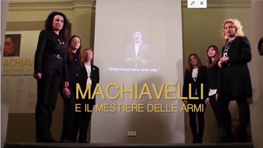 """""""Machiavelli e il mestiere delle armi"""""""