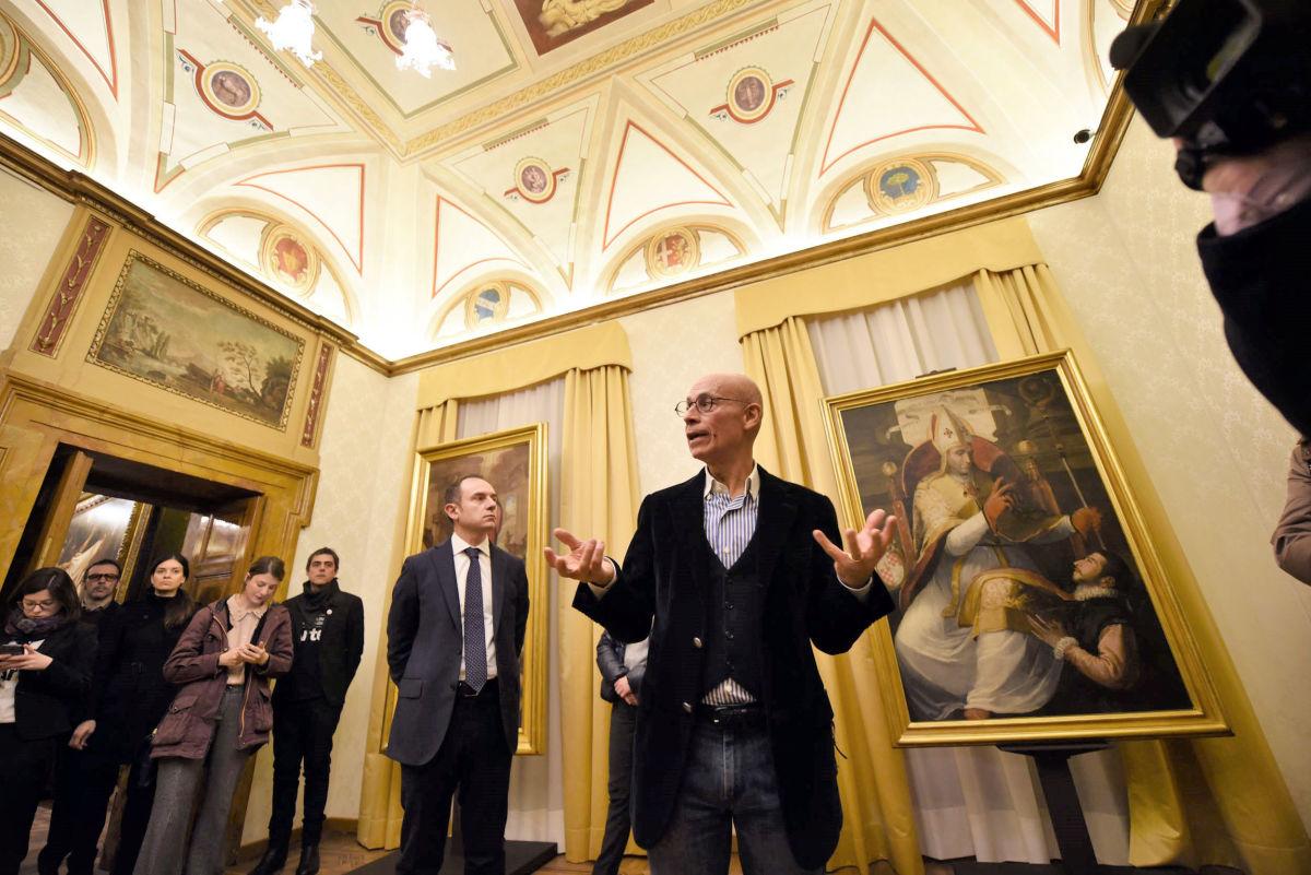 I Tesori della Fondazione raccontati del prof. Mancini, curatore della mostra allestita a Perugia