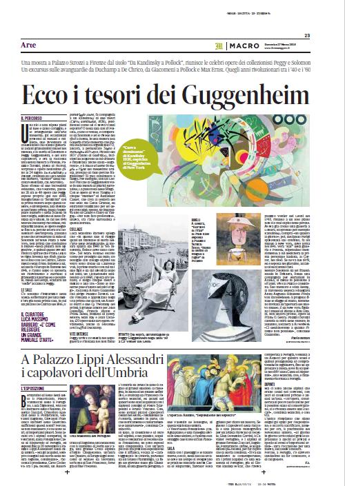 A Palazzo Lippi Alessandri i capolavori dell'Umbria