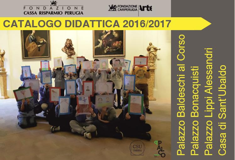 Musei a misura di studenti, la Fondazione Cariperugia Arte  presenta il catalogo didattico per le scuole