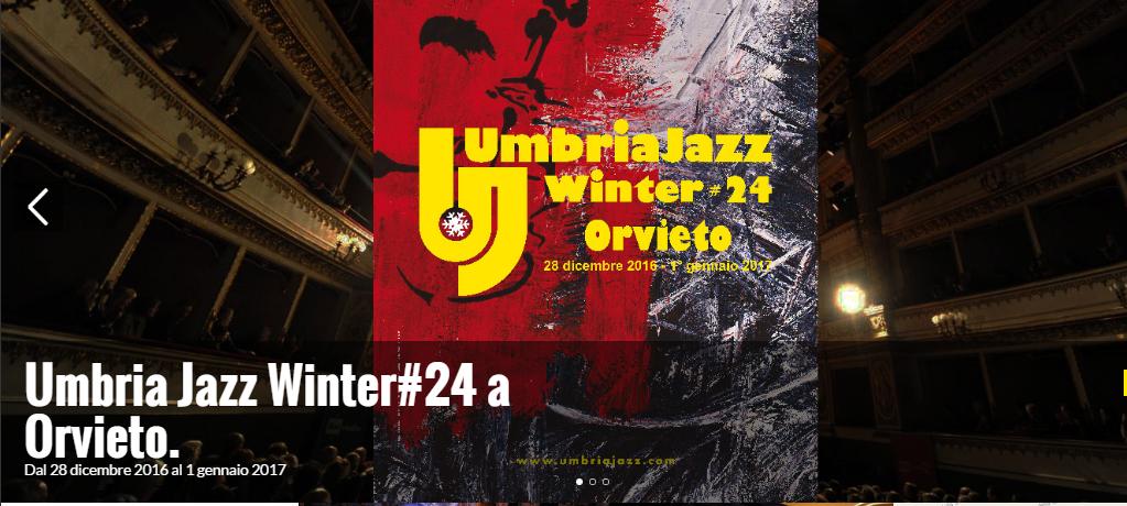 Umbria Jazz Winter, Orvieto si anima di concerti e spettacoli