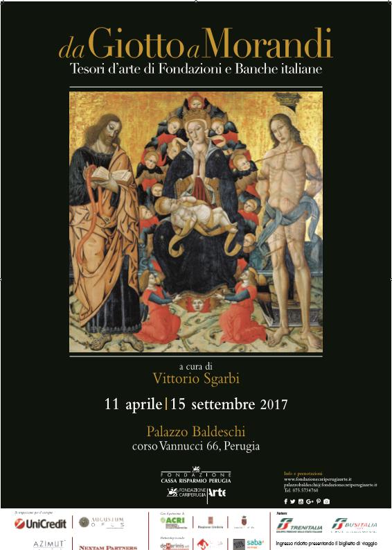 Da Giotto a Morandi, tesori d'arte di Fondazioni e Banche italiane (Ita-Eng)