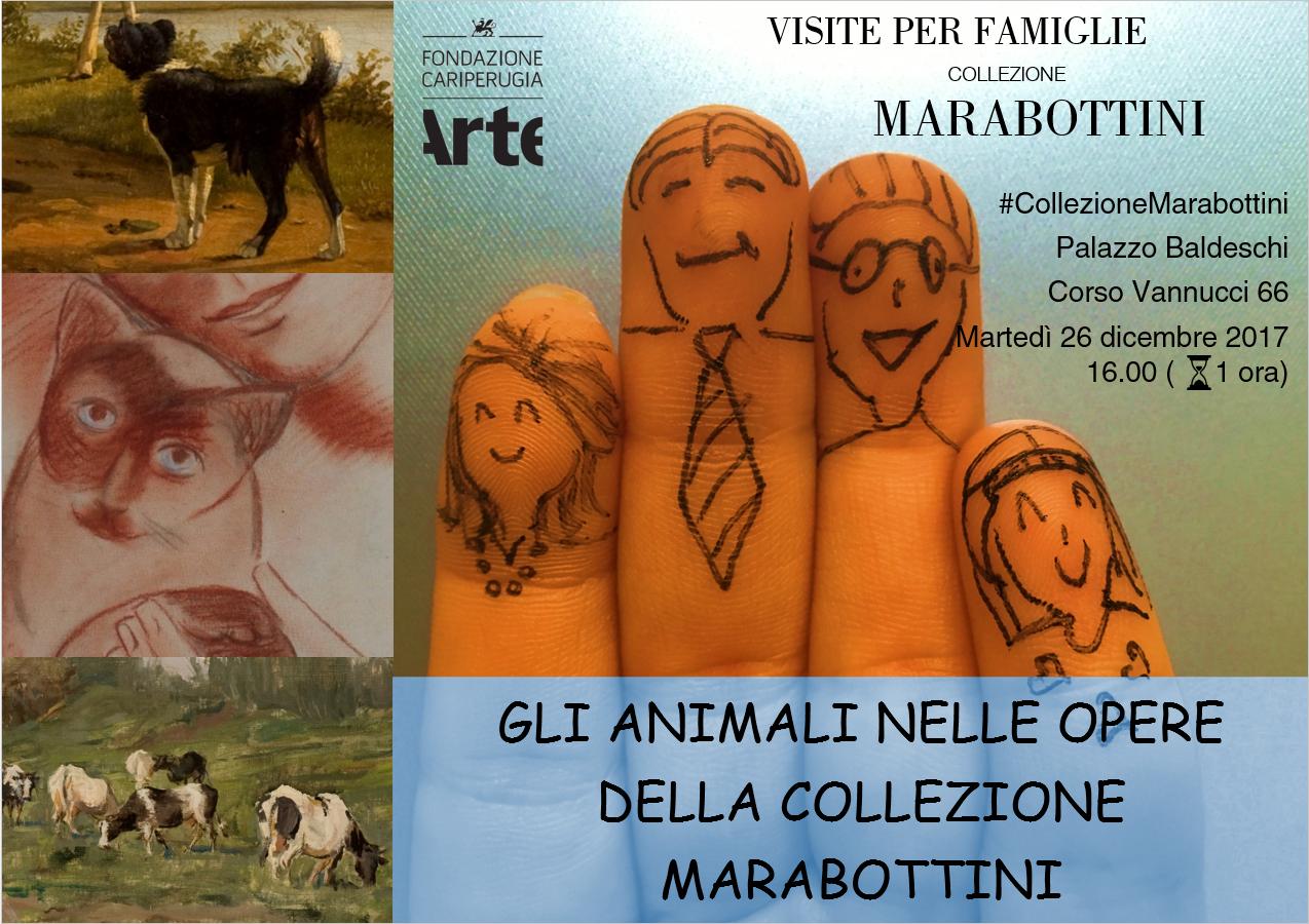 Gli animali nella Collezione Marabottini, il percorso guidato per le famiglie