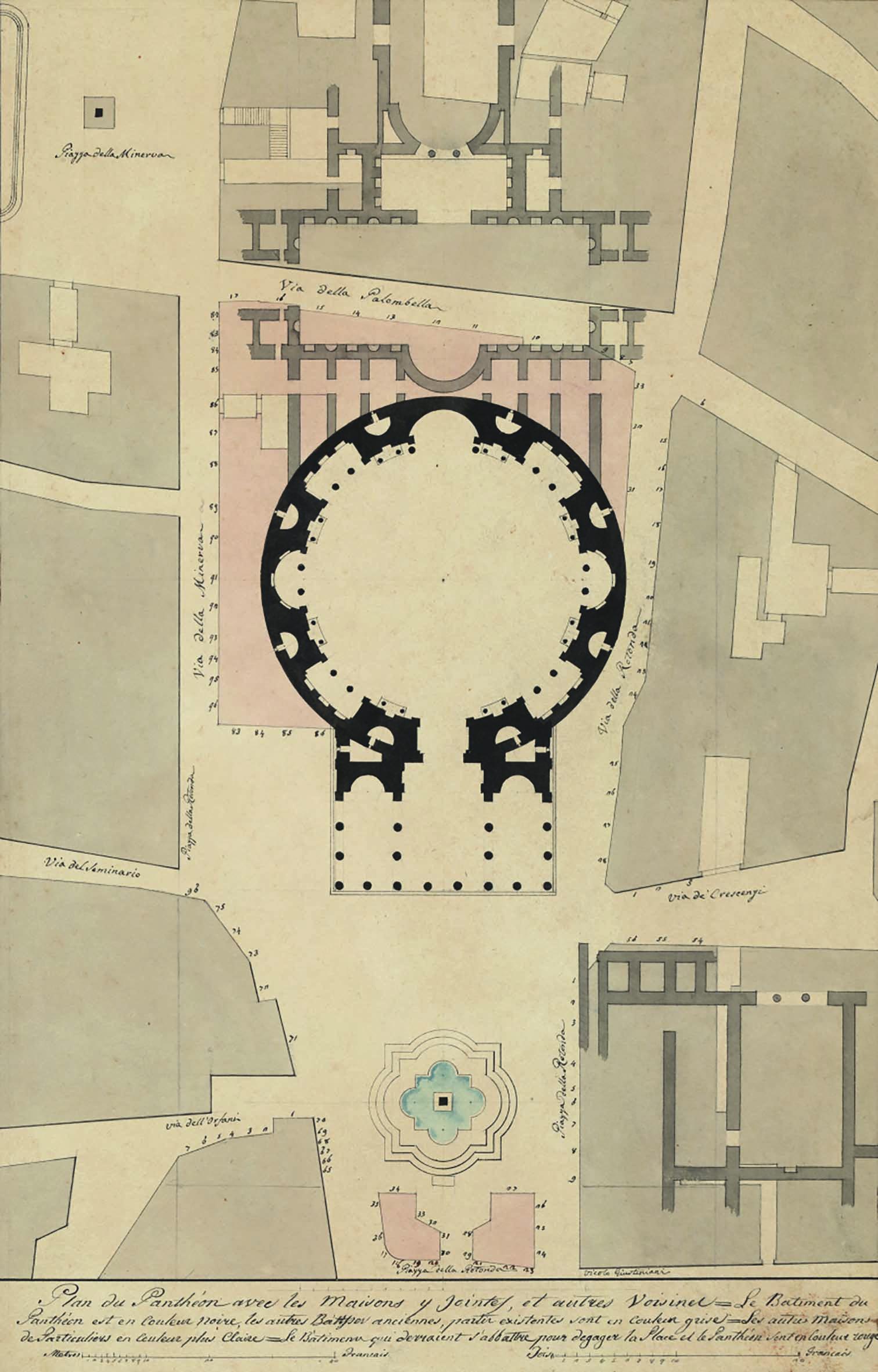 2690 GIUSEPPE VALADIER Sistemazione Pantheon