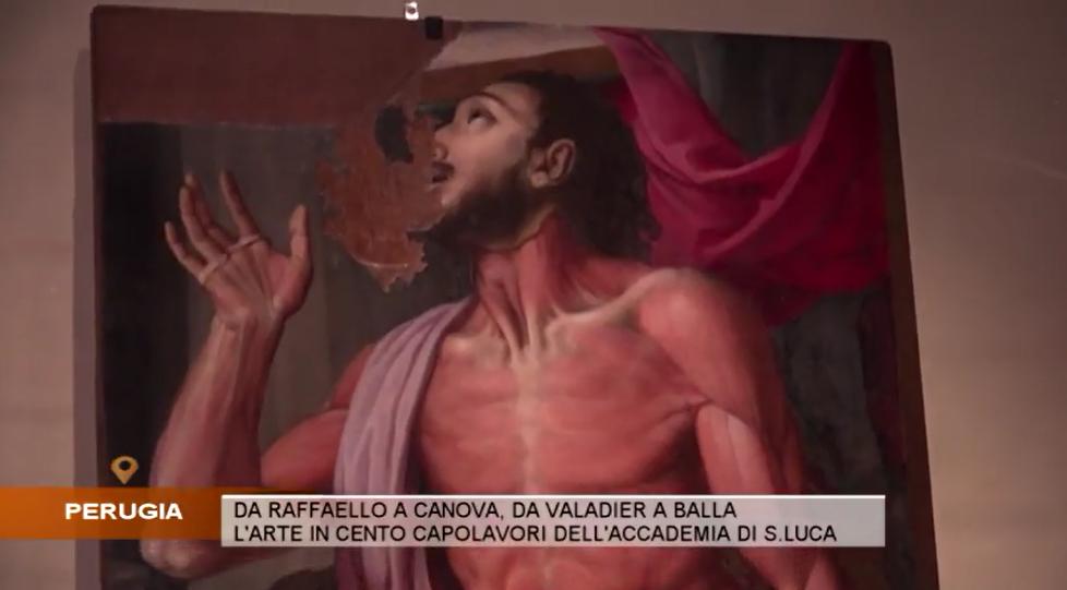 Su Umbria Tv i capolavori dell'Accademia Nazionale di San Luca a Perugia