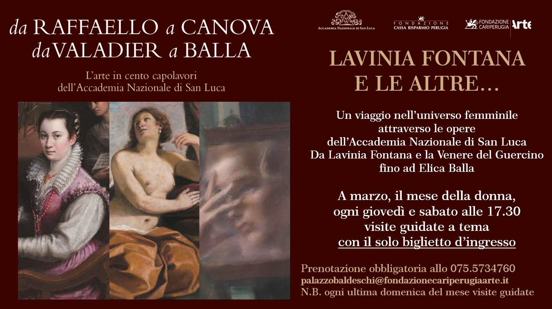 """""""Lavinia Fontana e le altre…"""", da marzo eventi e visite guidate"""