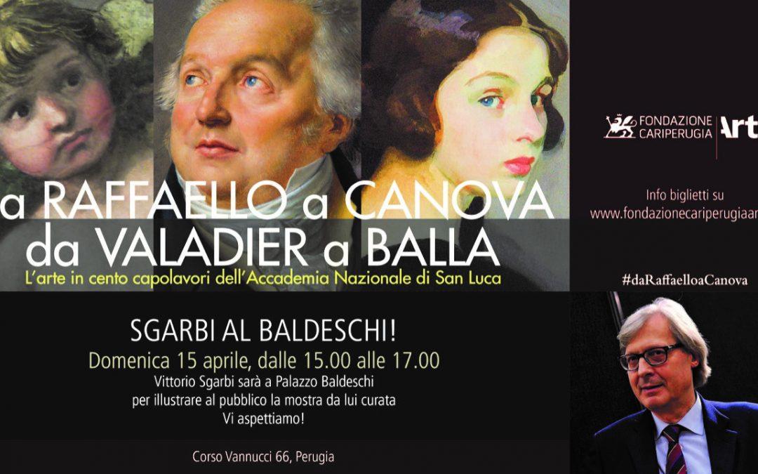 Domenica 15 aprile Vittorio Sgarbi illustra il percorso espositivo
