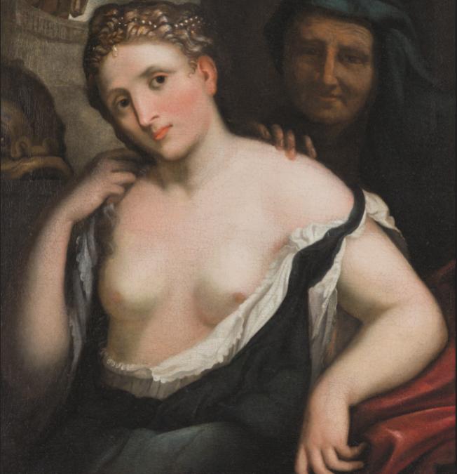 """Il nudo alla mostra da """"Da Raffaello a Canova, da Valadier a Balla"""""""