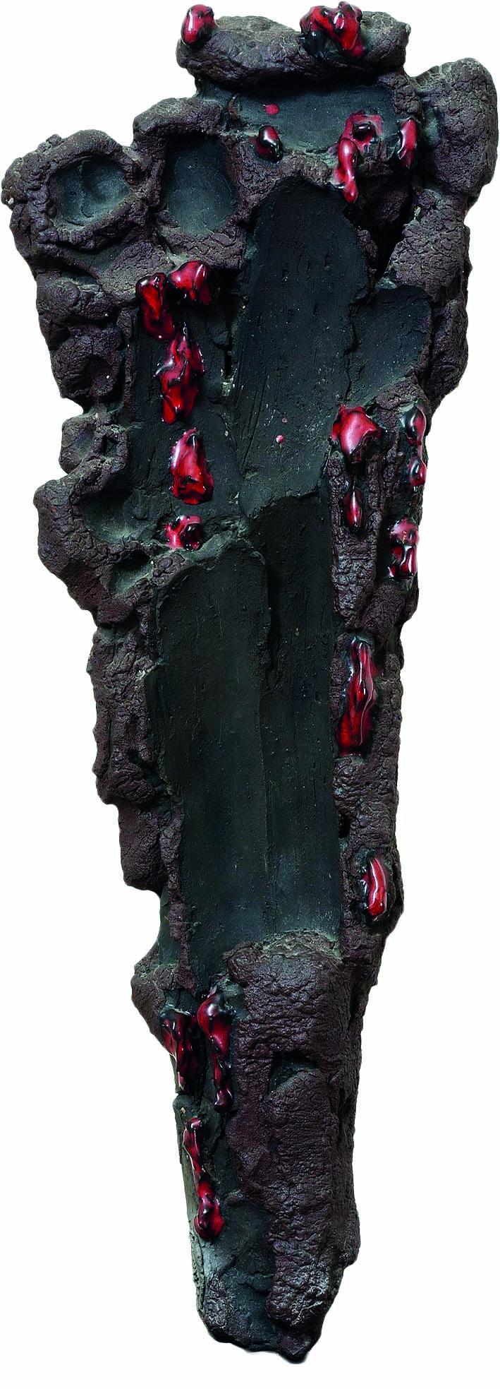 LEONCILLO, SCULTURA CON GOCCE ROSSE, 1960