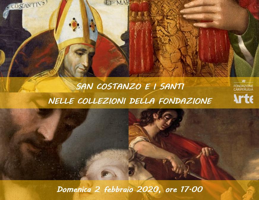 San Costanzo e i Santi nelle Collezioni della Fondazione